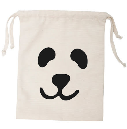 Tellkiddo Fabric Bag Panda Small
