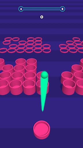 Basket throw: cup pong ball game. Toss & dunk it! ss1