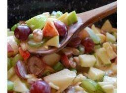 Crunchy Apple & Grape Salad Recipe