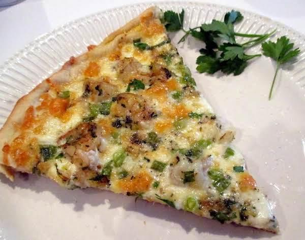 ~ Cassies Thin Crust Shrimp Scampi Pizza ~ Recipe