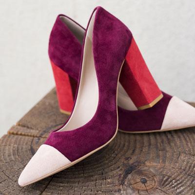 Tri-tone shoe - this seasons top colors