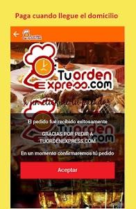 Domicilios Tuordenexpress screenshot 7