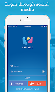 Parkbuzz- screenshot thumbnail