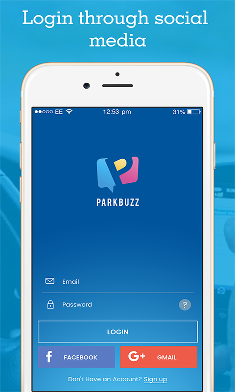 Parkbuzz- screenshot