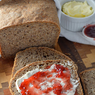 5-Ingredient Whole Wheat Flaxseed Bread