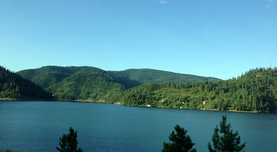 """Photo: Lake Coeur d'Alene in Idaho. It means """"Heart of the Awl"""". Awl, as in nail-punching-thing."""