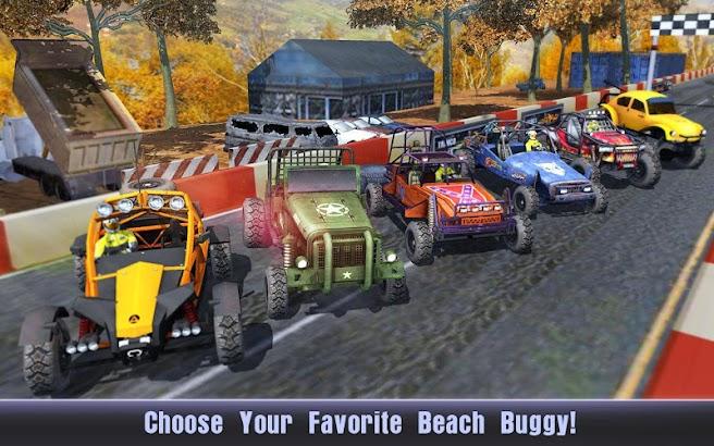 Summer Buggy: Asphalt & Sky screenshot