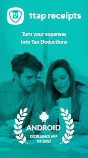 1tap receipts Tax Calculator & Receipt Scanner Screenshot