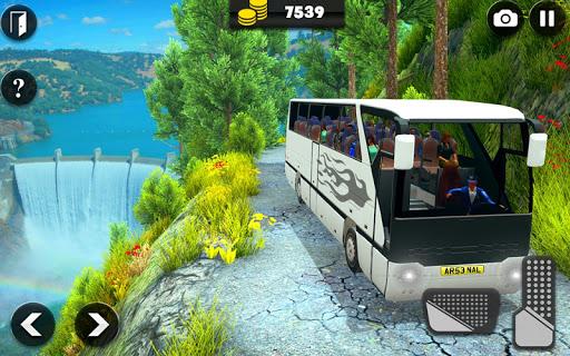 offroad bus driving simulator 2019: mountain bus screenshot 2