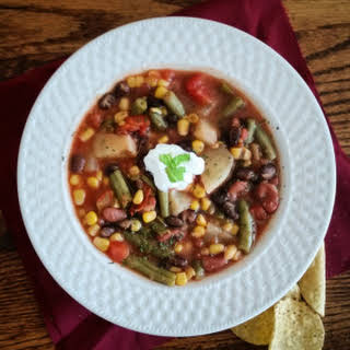 Chickpea Kidney Bean Soup Recipes.