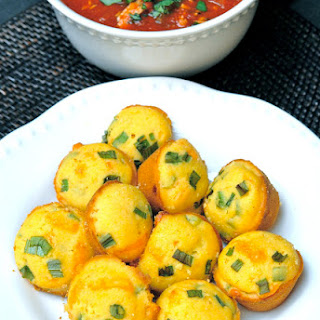Jalapeno Cheddar Corn Mini Muffins