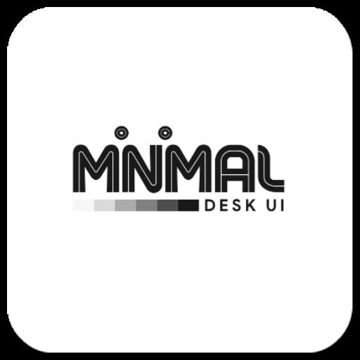 Minimal Desk UI Kustomklwp
