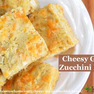 Cheesy Garlic Zucchini Bread.