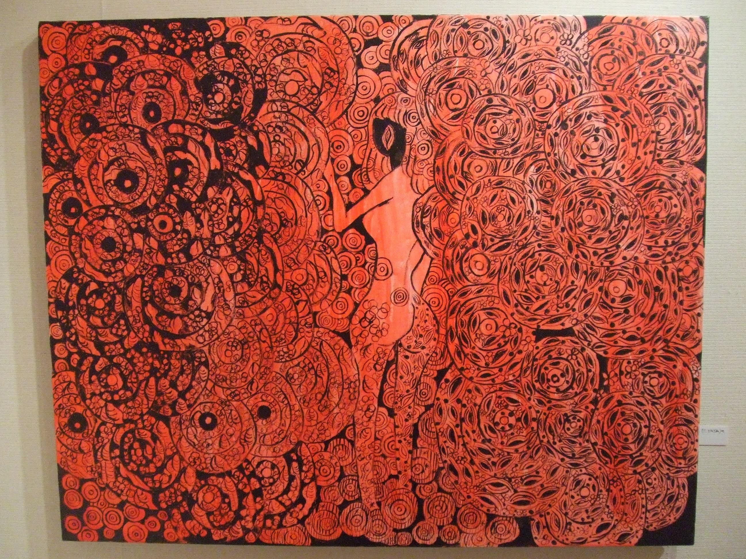 [後朝(きぬぎぬ)の、] - 伊藤 洋子の美術
