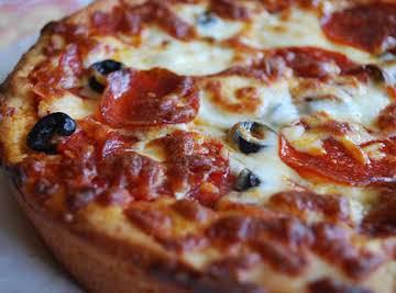 Homemade Pizza Hut Pan Pizza