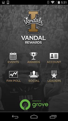 Vandal Gameday Rewards