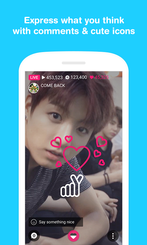 V – Live Broadcasting  APP- screenshot