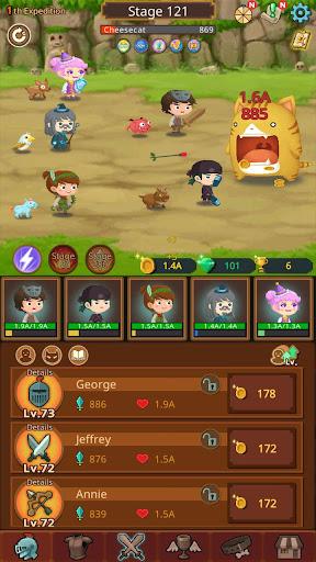 Job Hunt Heroes : Idle RPG apkpoly screenshots 18