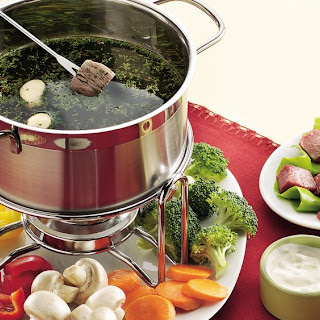 Beef and Chicken Fondue Recipe