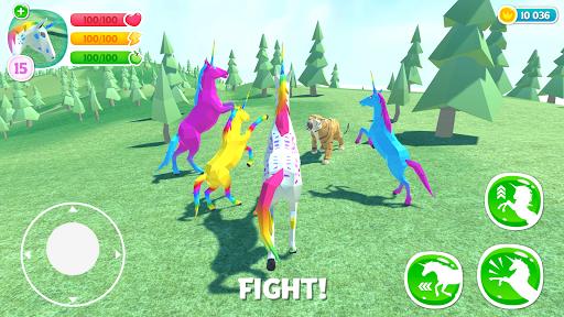 ud83eudd84 Unicorn Simulator Family Free 2uff0dWild Horse Game filehippodl screenshot 3
