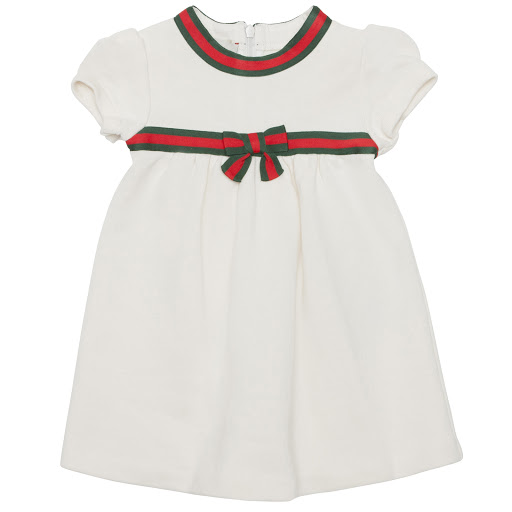 Primary image of Gucci Web Bow Dress