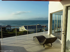Photo: #003-Le Sea Star Lodge (Gansbaai) est situé à De Kelders d'où l'on peut admirer les baleines.