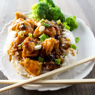 Asian Sticky Chicken.