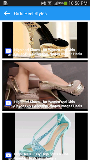1000+ Girls High Heel Styles