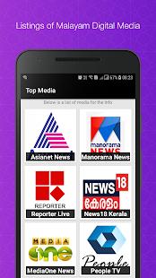 Malayalam News: News18, Manorama & News TV Info - náhled