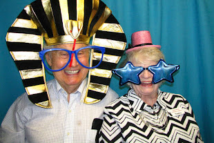 image of a Husband and wife in a photo booth