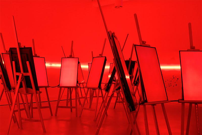 Art in Red di Allestratocaster
