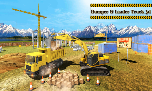 Dump & Loader Truck Free- screenshot thumbnail