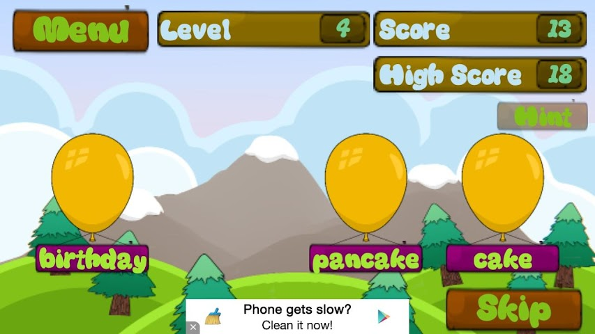 android 3rd Grade Sight Words Screenshot 4