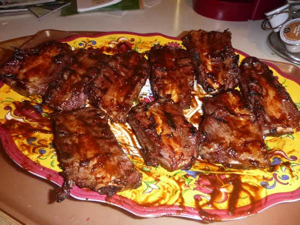 Marty's Up To Your Elbows Barbeque Beef Ribs!!! Recipe
