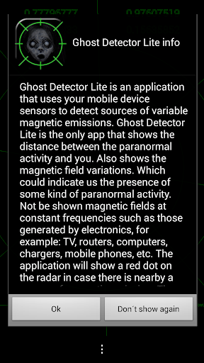 Ghost Detector Lite screenshot 8