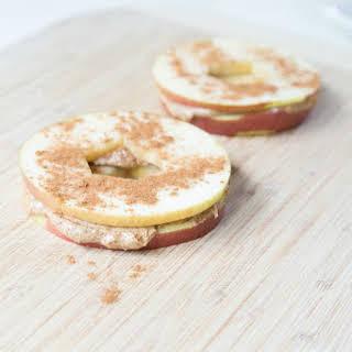 Apple & Almond Butter Sandwiches.