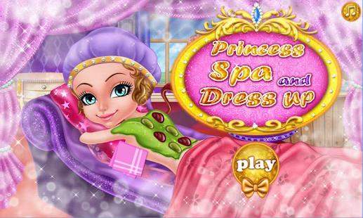 Princess Spa and Dress Up Game