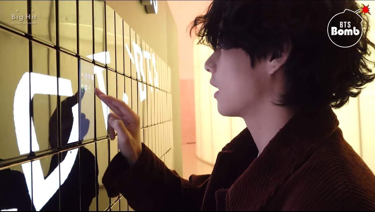 taehyung at connect bts
