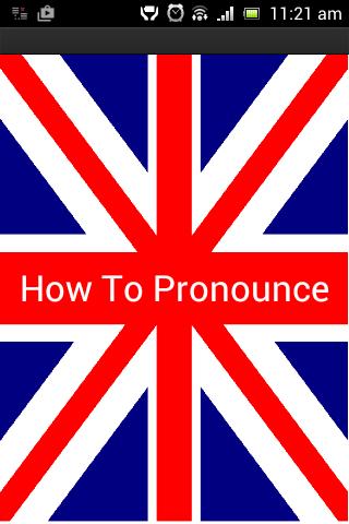 如何用英语发音