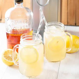 Sparkling Bourbon Peach Lemonade.