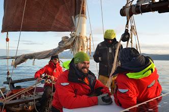 Photo: Retour du soleil avec le vent du sud qui nous rejoins ! on quite la norvège !