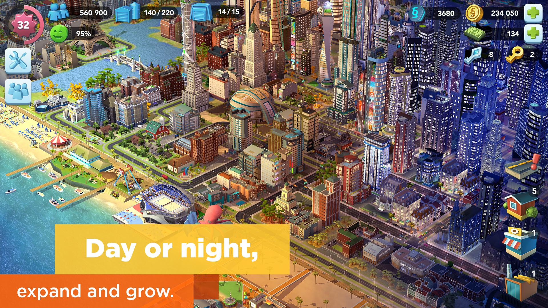 Simcity Buildit Mod Apk (Unlimited Money/Coins/Keys) Latest Version 4