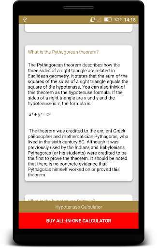 Download Hypotenuse Calculator Pythagorean Math Geometry Free For Android Download Hypotenuse Calculator Pythagorean Math Geometry Apk Latest Version Apktume Com