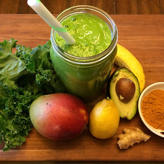 Totally Turmeric Green Smoothie Recipe