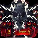 Tech 3D skull Eva keyboard icon
