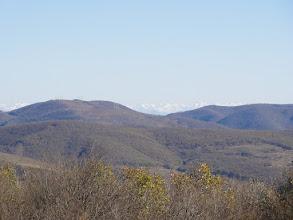 Photo: W oddali główny grzbiet Kaukazu - Pasmo Tuszeckie.