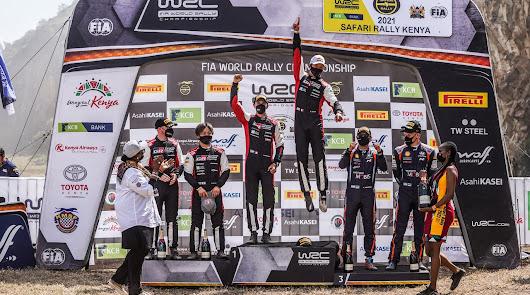 TOYOTA GAZOO Racing ocupa el primer y segundo lugar en el regreso de Safari