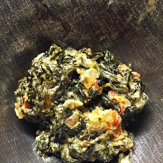 Pimento Creamed Spinach