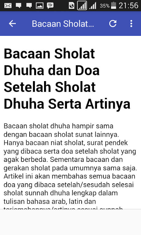 Download Doa Sholat Dhuha By Huffman Evelyn Apk Latest