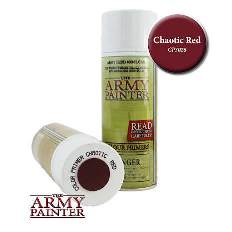 ArmyPainter Colour Primer Spray - Chaotic Red